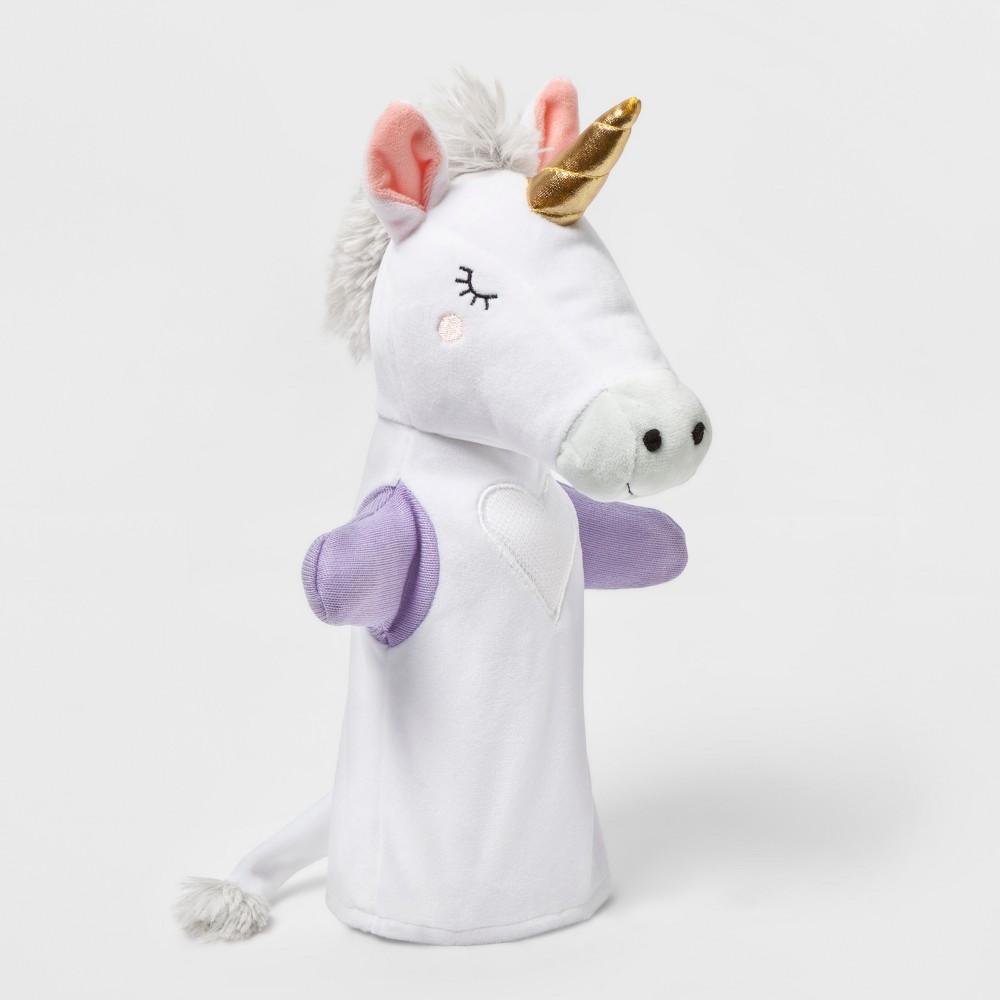 Unicorn Hand Puppet - Pillowfort, White
