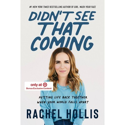 Didn't See That Coming - Target Exclusive Edition by Rachel Hollis (Hardcover)