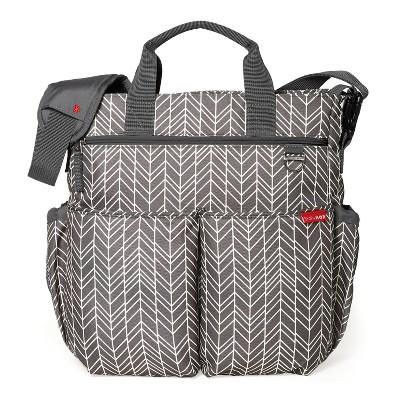 Skip Hop DUO Signature Diaper Bag - Gray Feather