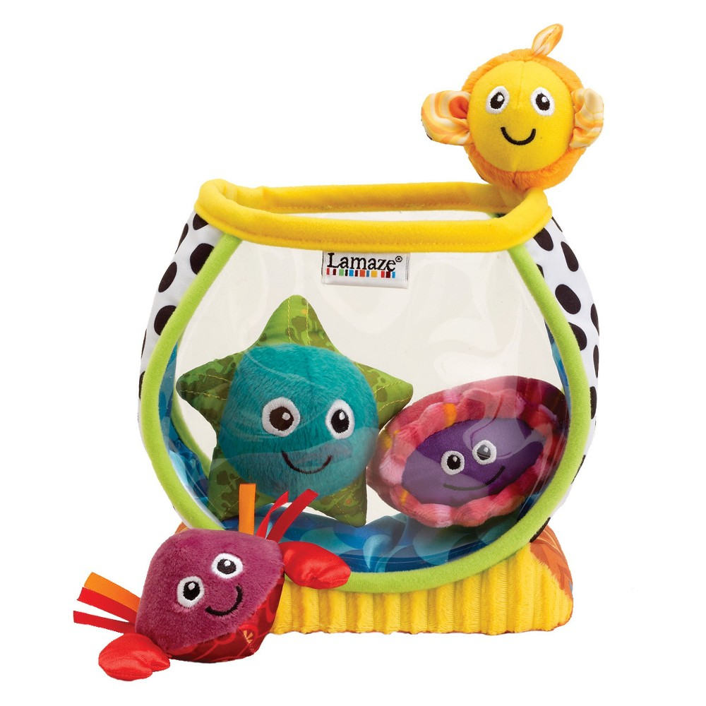 Image of Lamaze My First Fishbowl, stacking and sorting toys