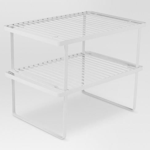 Kitchen Storage Racks Holders And Dispensers White Threshold Target