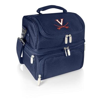 NCAA Virginia Cavaliers Pranzo Dual Compartment Lunch Bag - Blue