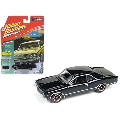 JOHNNY LIGHTNING MUSCLE CARS  U.S.A 1969 ELIMINATOR BLUE