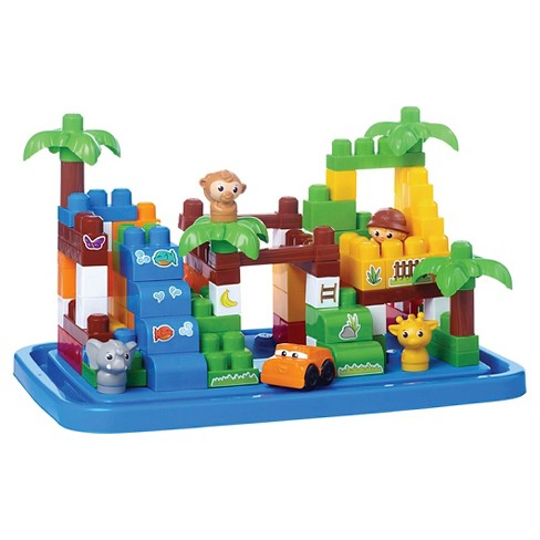 Mega Bloks First Builders Safari Tub - image 1 of 5