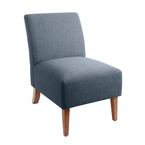 Silverwood Addison Upholstered Accent Chair Dark Gray Target