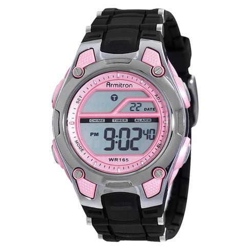 3afe826e2937 Armitron® Women s Digital Sport Watch - Pink   Target