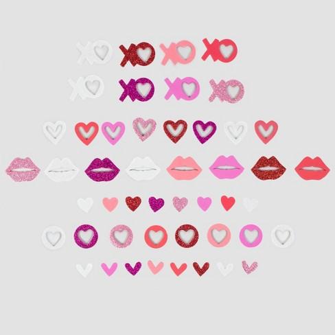 Large Traditional Valentine's Sticker Bucket - Spritz™ - image 1 of 1