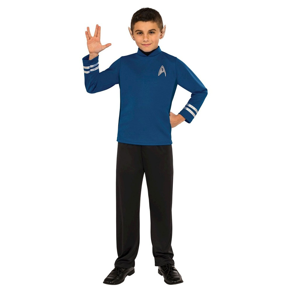 Image of Halloween Kids' Star Trek Beyond Spock Classic Costume - Small, Men's, Size: Small(4-6), MultiColored