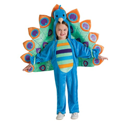 Girls' Peacock Toddler Costume - image 1 of 1