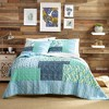 Native Springs Quilt Set Blue - Justina Blakeney for Makers Collective - image 2 of 4