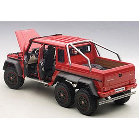 mercedes g63 amg 6x6 red 1/18 model carautoart : target