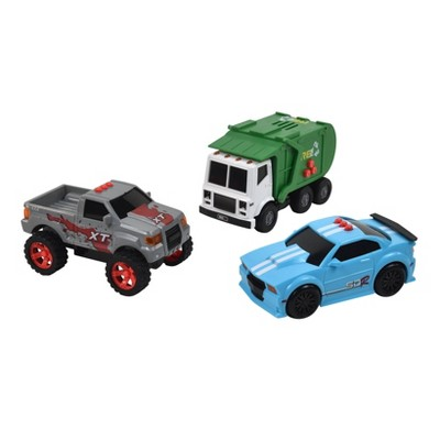 Maxx Action Mini Vehicle City 3-pk