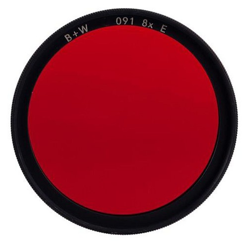 B + W 55mm #091 Multi Coated Glass Filter - Dark Red #29 - image 1 of 1