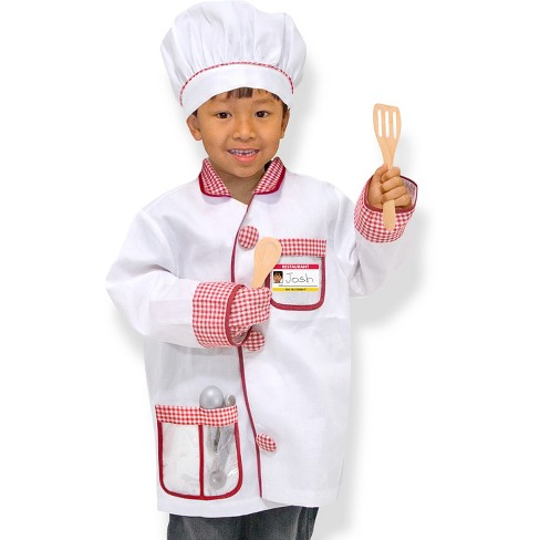 Melissa & Doug Chef Role Play Costume Dress -Up Set With Realistic Accessories - image 1 of 4
