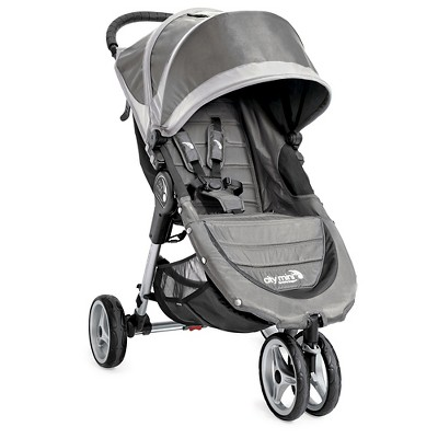 Baby Jogger City Mini 3W Single Stroller - Steel Gray
