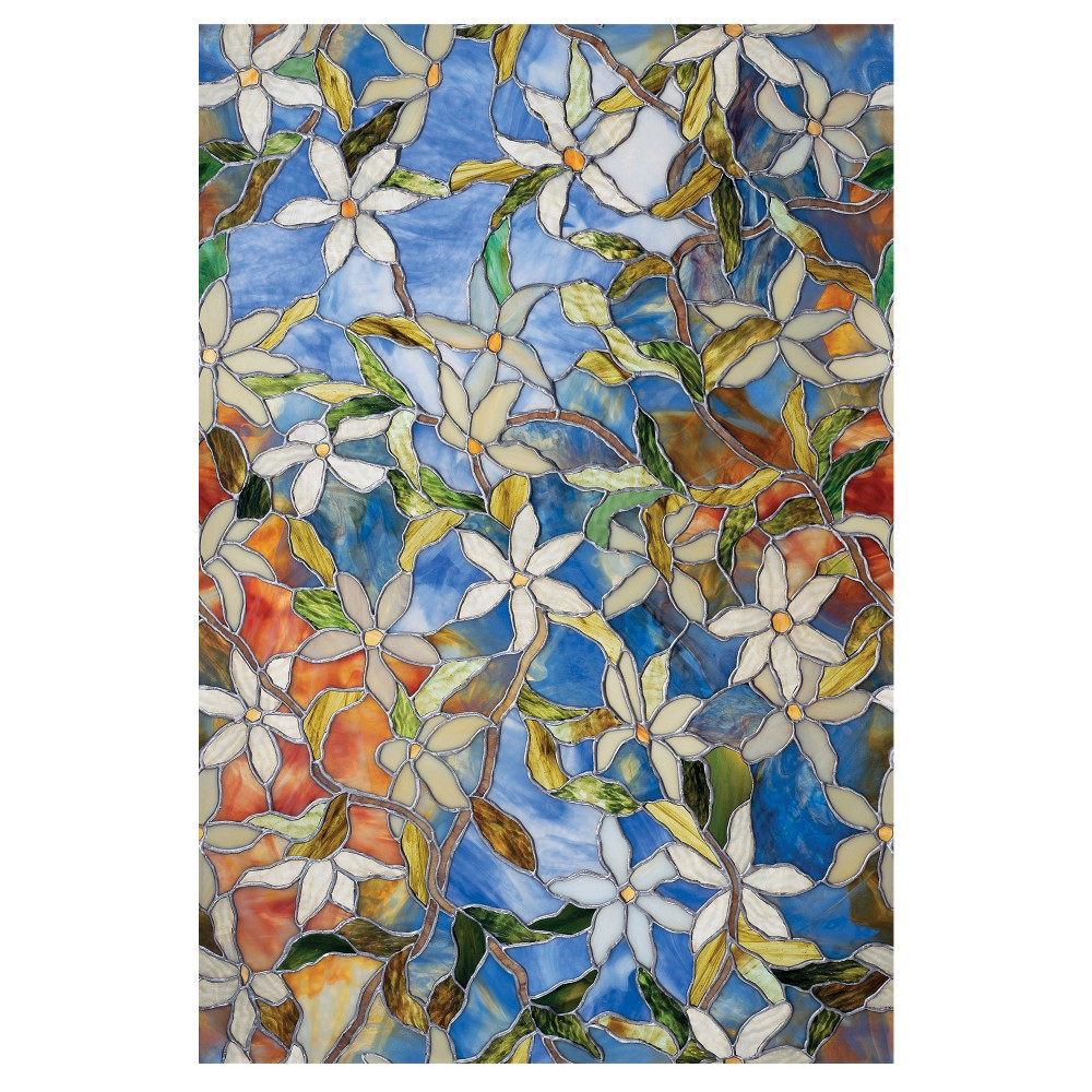 "Image of ""Artscape Clematis Window Film (24"""" x 36"""")"""
