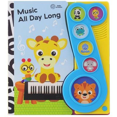 Baby Einstein Music All Day Long Little Music Note Sound (Board Book)