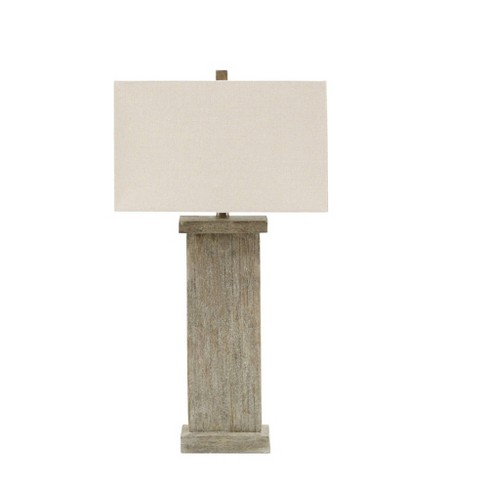 Bowdon Table Lamp Gray (Lamp Only) - image 1 of 4