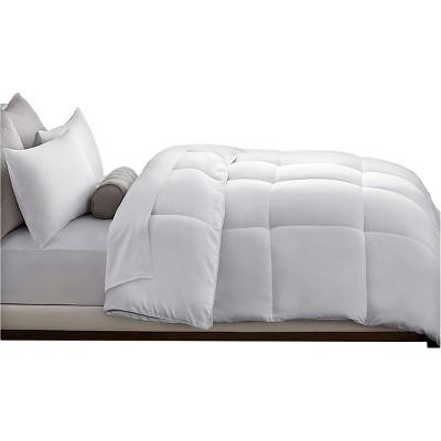 Microfiber Down Alternative Comforter (King)White
