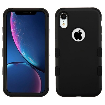 MYBAT For Apple iPhone Tuff Hard TPU Hybrid Case
