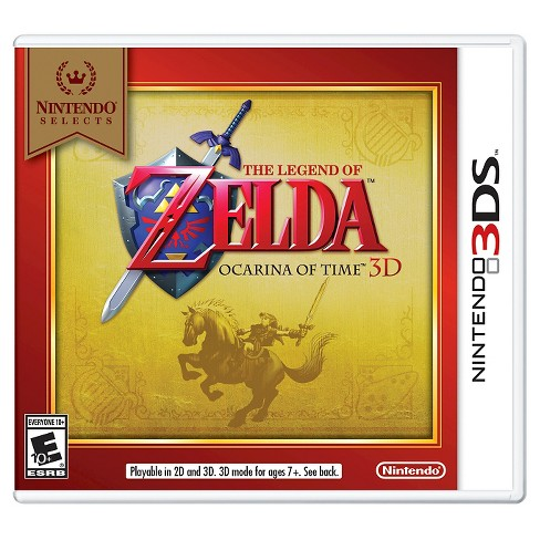 Nintendo Selects: The Legend of Zelda: Ocarina of Time 3D Nintendo 3DS - image 1 of 1