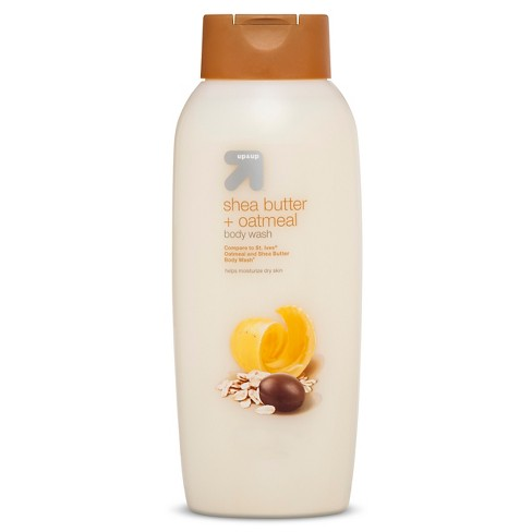 Scented Body Wash - 24oz - Up&Up™ (Compare to St Ives Oatmeal and Shea Butter Body Wash) - image 1 of 1
