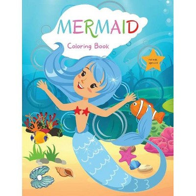 Mermaid Coloring Book for Kids - by  Camelia Jacobs (Paperback)
