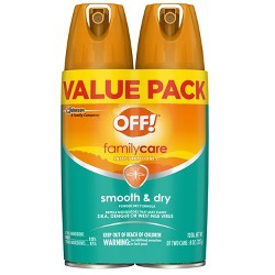 OFF! FamilyCare Smooth & Dry Insect Repellent I - 4oz/2ct