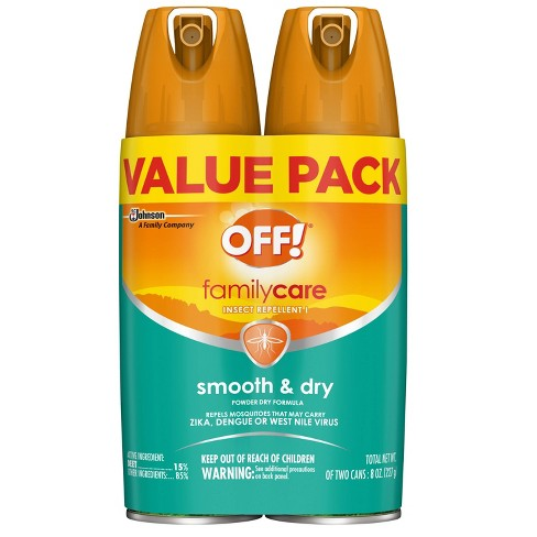 OFF! FamilyCare Smooth & Dry Insect Repellent I - 4oz/2ct - image 1 of 3
