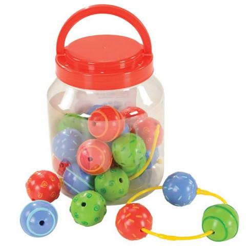 Edushape Sensory Textured Baby Beads - image 1 of 3