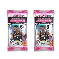 2019-20 NBA Mosaic Basketball Trading Card Multipack Bundle of 2