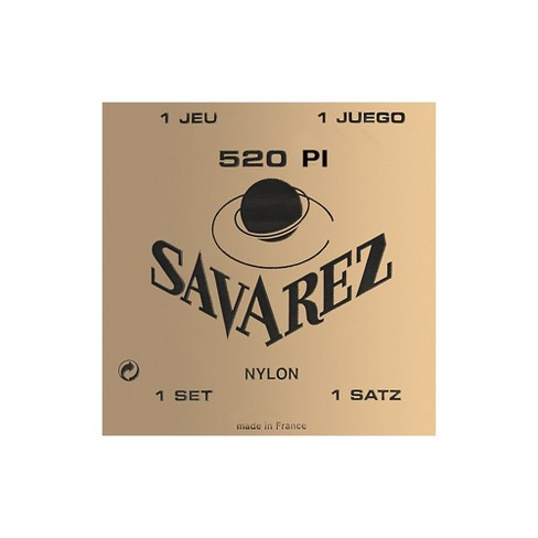 Savarez Traditional 520P1 High Tension Classical Guitar Strings - image 1 of 1