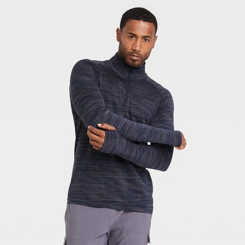 Men's Seamless 1/4 Zip Pullover - All in Motion™ - image 1 of 4