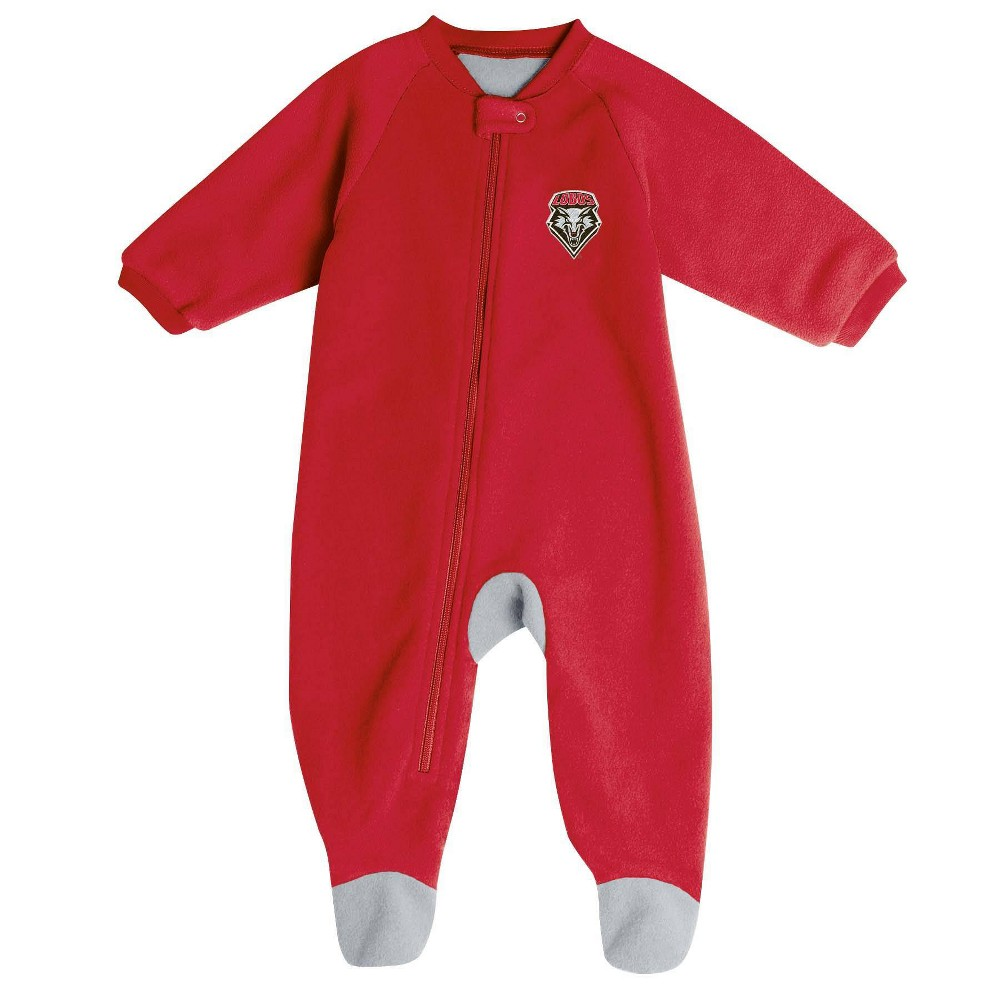Ncaa New Mexico Lobos Baby Boys 39 Blanket Sleeper 0 3m