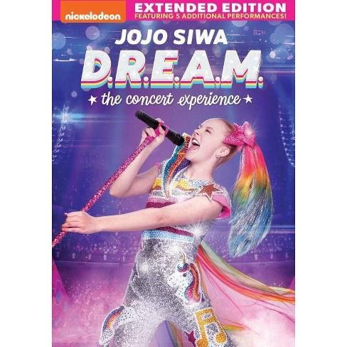 Jojo Siwa D R E A M The Concert Experience Dvd Target