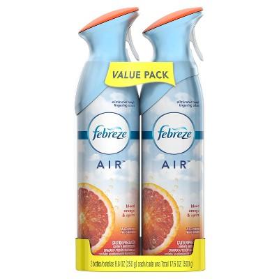 Febreze Air Blood Orange & Spritz Air Freshener - 8.8oz/2ct