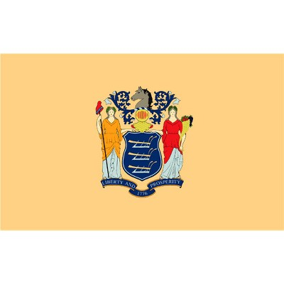 New Jersey State Flag - 3' x 5'