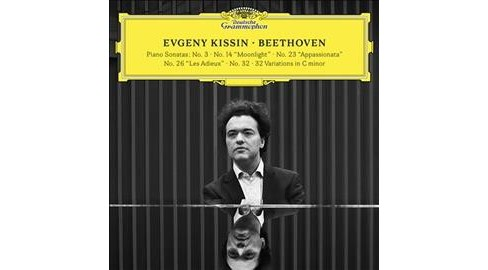 Evgeny Kissin - Beethoven (Piano Sonatas No 3/14/23/2 (CD) - image 1 of 1