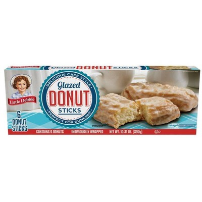 Little Debbie Donut Sticks - 6ct/10oz