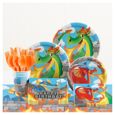 Dragons Birthday Party Supplies Kit - image 1 of 1