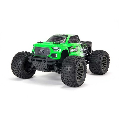 ARRMA RC Truck 1/10 GRANITE 4X4 V3 3S BLX Brushless Monster Truck RTR (Battery and Charger Not Included), Green, ARA4302V3T1