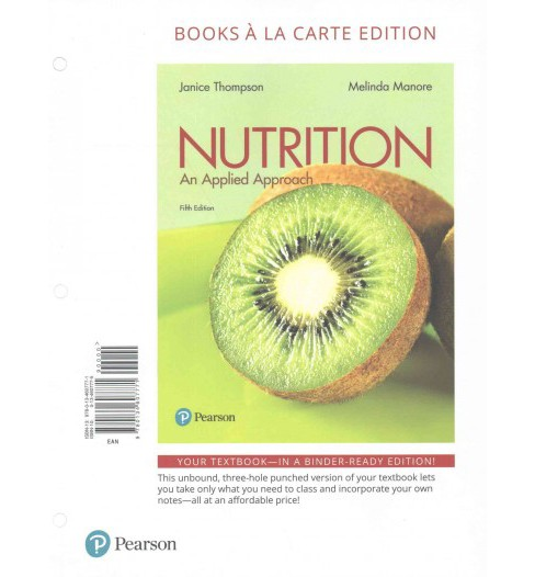 Nutrition : An Applied Approach (Paperback) (Janice Thompson & Melinda Manore) - image 1 of 1