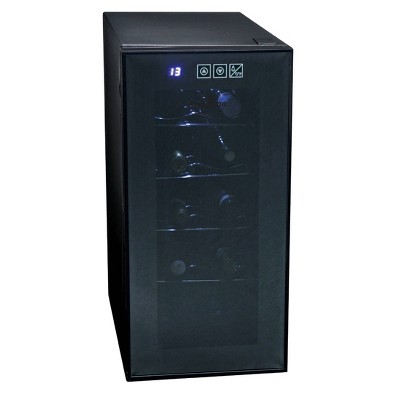 Koolatron 10-Bottle Wine Cooler - Black