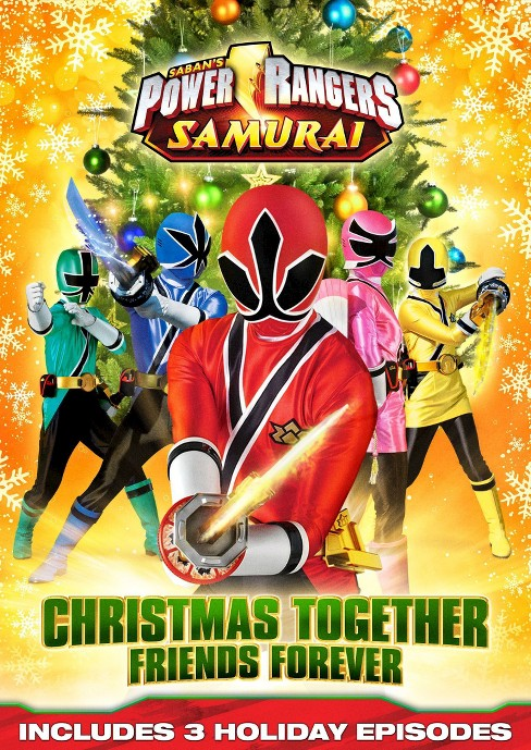 Power Rangers Samurai: Christmas Together, Friends Forever (dvd_video) - image 1 of 1