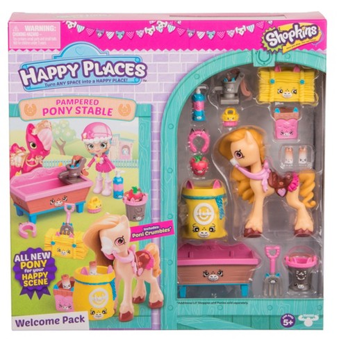 Happy Places™ Shopkins Welcome Pack - Pampered Pony Stable - image 1 of 5