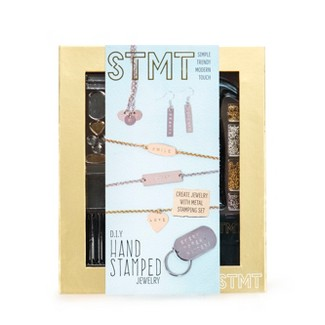 DIY Hand Stamped Metal Jewelry Kit - STMT