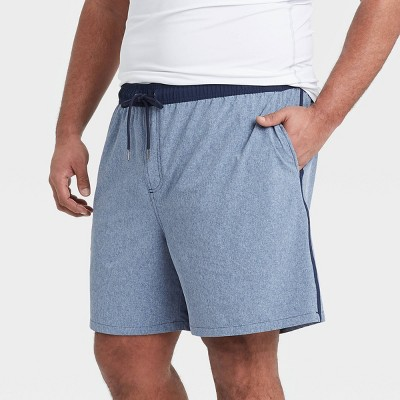 "Men's Big & Tall 7"" Swim Trunks - Goodfellow & Co™ Navy"