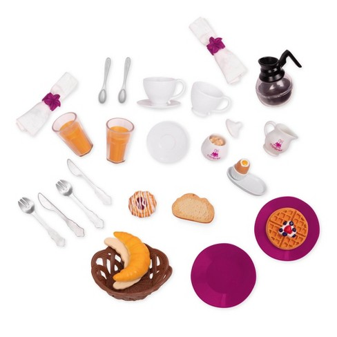 Our Generation Pegged Accessory - Dining Car Breakfast Set - image 1 of 3