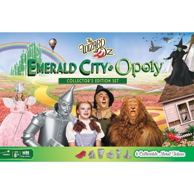 MasterPieces Wizard of Oz Emerald City Opoly Board Game