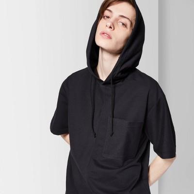 b68fa6264ae5 Men s Short Sleeve French Terry Hooded Sweatshirt - Original Use™